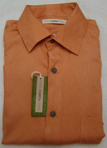Campia Moda Medium Coral Button Front Short Sleeve Shirt - Size Small - $21.95