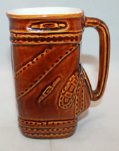 Vintage Royal Kaanapali Restaurant Maui Brown Golf Bag Shaped Mug Daga H... - $39.20
