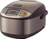 Zojirushi 5-1/2-Cup (Uncooked) Micom Rice Cooker and Warmer NS-TSC10 1L 1 Liter