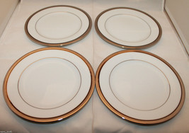 Set of 4 Noritake Legendary Renwick Platinum 43... - $59.01