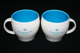 Starbucks Coffee 2004  2 White Blue Coffee / Te... - $37.83