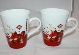 Set of 2 Starbucks 2013 Christmas Holiday Coffe... - $44.63