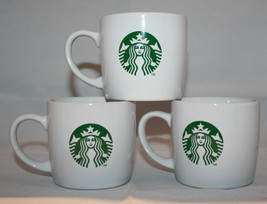 Starbucks Coffee 3 White Mermaid Logo Coffee/Te... - $53.72