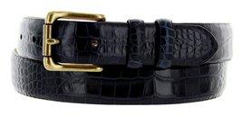 """Arthur Men's Genuine Italian Calfskin Leather Dress Belt 30mm 1-1/8"""" Wide (48... - $27.71"""