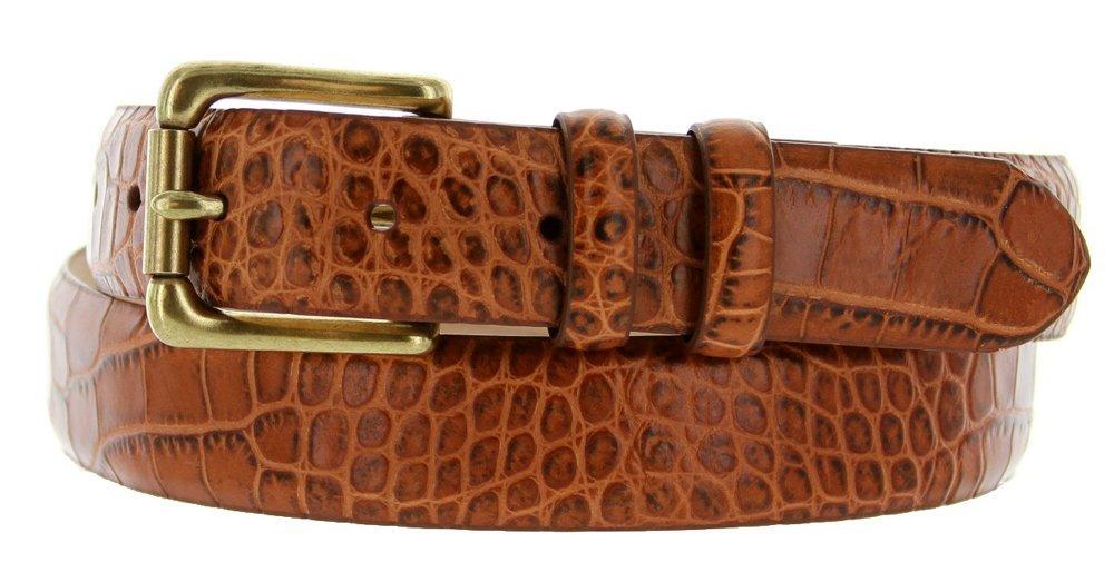 """Arthur Men's Genuine Italian Calfskin Leather Dress Belt 30mm 1-1/8"""" Wide (34... - $27.71"""