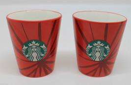 Set of 2 Starbucks Coffee 2014 Espresso Demi Sh... - $34.80