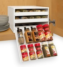 Chef's Pantry Spice Rack Organizer Stack Drawer... - $59.39