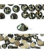 144 pcs Black Diamond (215) Swarovski 2058 Xilion/ NEW 2088 Xirius 12ss ... - $8.07