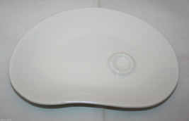 Starbucks Coffee 2004 At Home Collection White 8 inch Snack Plate Dish Tray - $29.50