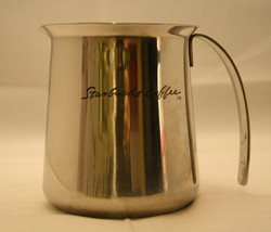 Starbucks Coffee Stainless Steel 18-8 Milk Frother Creamer Jug Pitcher H... - $31.02