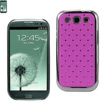 Diamond Protector Cover SAMSUNG GALAXY S III I9300 QUILT (Purple) - $26.29 CAD