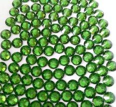FERN GREEN Crystal Rhinestones Flatback 144 SWAROVSKI 4.8mm 20ss ss20 - $11.58