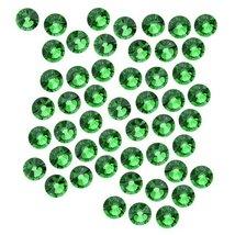SWAROVSKI ELEMENTS Crystal Flatback Rhinestones #2058 SS20 Fern Green (50) - $7.90