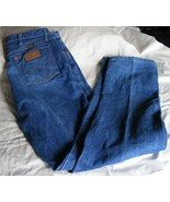 Wrangler Men's Jeans Cowboy Cut 13MWZ 36x36 Rigid Indigo - $4.99