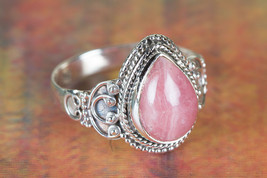 Amazing Rhodochrosite Gemstone Sterling Silver Ring All size BJR-535-RS - $14.99+