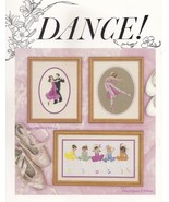 Dance, Old Lakewood Cross Stitch Pattern Booklet OL-030 by Sally Rung - $3.95