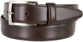 """MA133860 Genuine Oil Tanned Leather Dress Casual Belt 1-3/8"""" wide (Brown,44) - $16.78"""