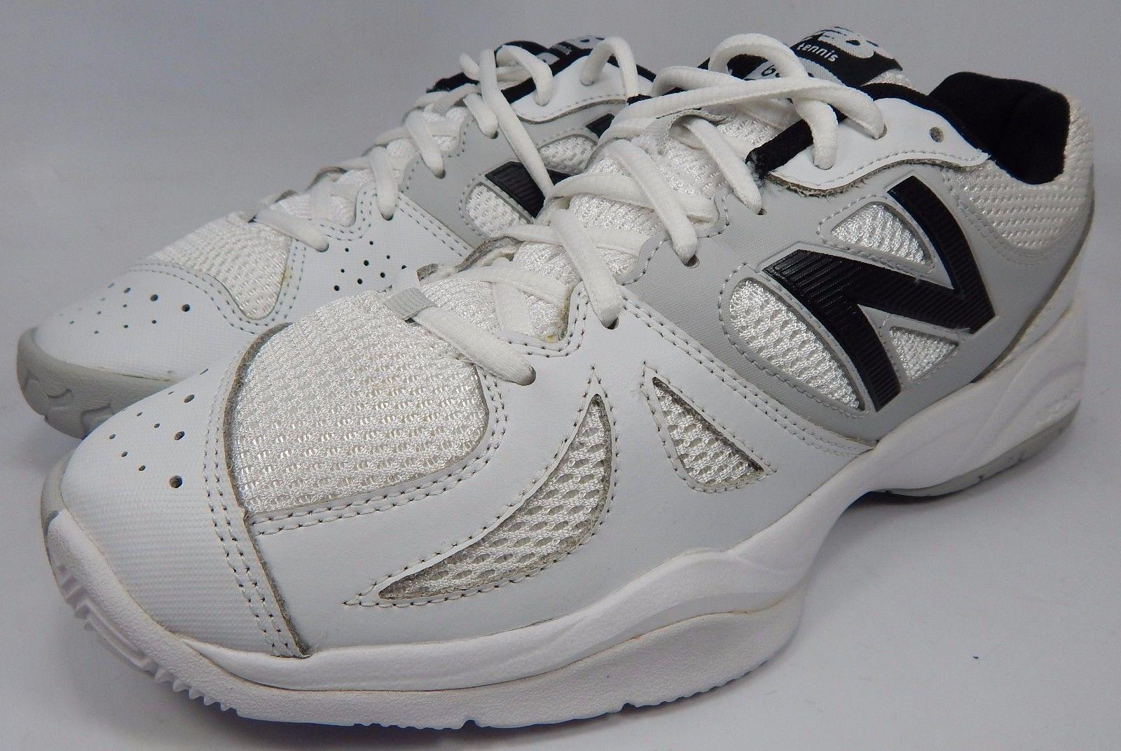 New Balance 696 Women's Tennis Court Shoes Size US 11 M (B) EU 43 White WC696WS
