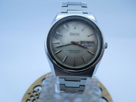 EXACTUS  AUTOMATIC  AMBASSADEUR  21 JEWELS ANTIQUE RARE VINTAGE WATCH - $233.75