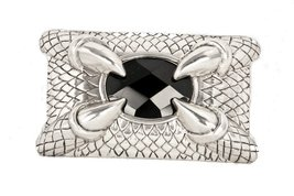 The Claw Heavy Metal Claw Belt Buckle Black Stone - $22.72
