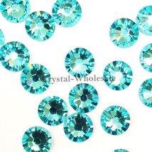 36 pcs Light Turquoise (263) Swarovski 2058 Xilion / NEW 2088 Xirius 30s... - $8.27