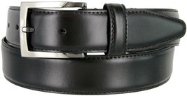 "MA133860 Genuine Oil Tanned Leather Dress Casual Belt 1-3/8"" wide (Black,32) - $16.78"