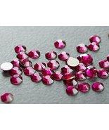 Flat back Crystal 2058 Swarovski Rhinestone No Hotfix Round 501 Ruby SS1... - $6.44