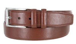 """Men's Genuine Leather Casual Dress Belt 1-3/8"""" (35mm) wide with Nickel Plated... - $9.85"""