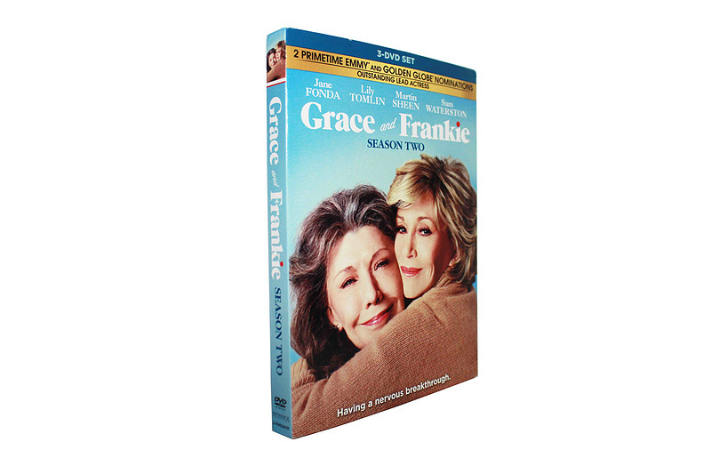 Grace and Frankie The Complete Season 2 Two DVD Box Set 3 Disc Free Shipping