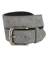 Casual Jean Suede Leather Belt for Women (Gray, 36) - $18.95