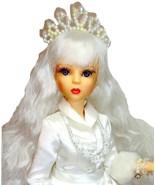 "The White Queen Alice in Wonderland 16"" Doll Goodreau 1/4 MSD BJD Pillow... - $154.95"