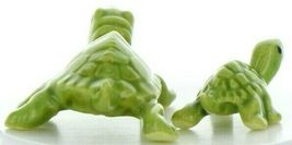 Hagen Renaker Miniature Turtle Mama and Baby Ceramic Figurine Set image 8