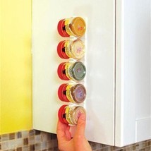 4Pcs/Set Spice Wall Rack Storage Plastic Kitche... - $4.70