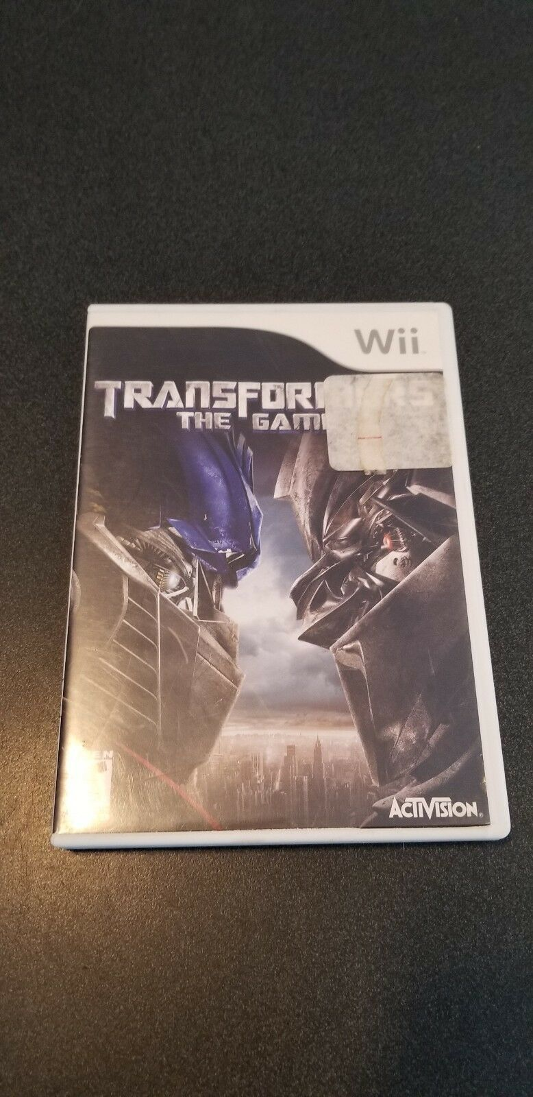 TRANSFORMERS THE GAME - Wii - COMPLETE W MANUAL