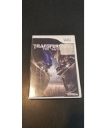 TRANSFORMERS THE GAME - Wii - COMPLETE W MANUAL - $4.95