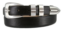 Vincent Silver Genuine Italian Calfskin Leather Designer Dress Belt for Women... - $29.69