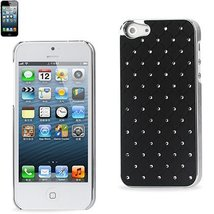 Reiko Diamond Protector Cover iPhone5 - Retail Packaging - Black - $4.95