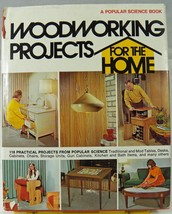 Popular Science Woodworking Projects for Home H/B Book 300 p Furniture A... - $8.79