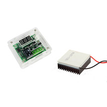 W1209 12V -50-110°C Digital Thermostat + Case + TEC1-12706 w/ Heatsink K... - $13.67