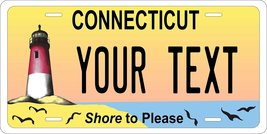 Connecticut Shore Personalized Custom Novelty Tag Vehicle Car Auto Motor... - $16.75