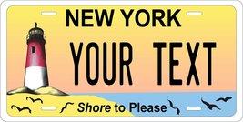 New York Shore Personalized Custom Novelty Tag Vehicle Car Auto Motorcyc... - $16.75