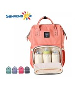 Sunveno Fashion Mummy Maternity Nappy Bag Brand Large Capacity Baby Bag ... - $63.35