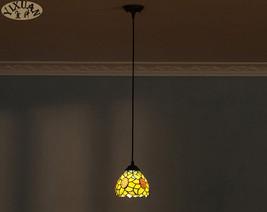 Tiffany Sunflower Pendant Light Ceiling Lamp Stained Glass Lighting Fixture E27 - $43.37