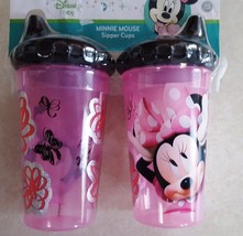 Disney Minnie Mouse Clubhouse Slim Toddler Insulated Sippy Cups, 2 Count - $14.49