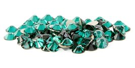 SS20 Swarovski Rhinestones - Emerald (1 Gross = 144 pieces) - $11.58
