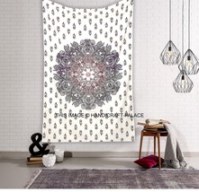 Ombre Indian Mandala Hippie Tapestry Wall Hanging Bedding Bedspread Beac... - $333,34 MXN