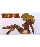 Deadpool 36 x 24 Marvel Comics comic book sexy girl woman promo poster: ... - $40.00