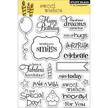 Blenders (Countertop) Penny Black 30104 Sweet Wishes Clear Stamp PB30104... - $27.11