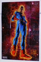 Miracleman Marvel Universe Comic Book Superhero Comics Shop Dealer Promo Poster - $40.00