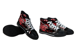Marilyn Manson Canvas Shoes - $64.99